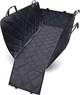 Pet Seat Cover – Car Back Seat Hammock - 3 Ways to Use – 100% Waterproof – Non Scratch – Non Slip - Available for Most Car...