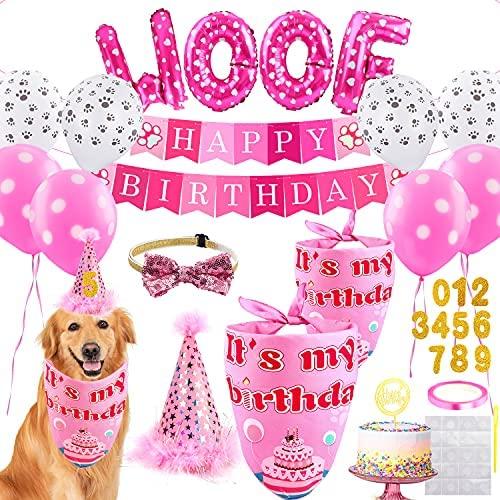 Dog Birthday Party Supplies – Dog Girl...