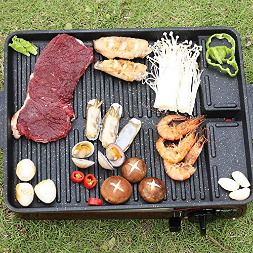 Wzmdd Niet Stick Bakken Roosteren Kookplaat Set Oven Schaal Bak Pan Bakeware Gemakkelijk Schoon Keuken Accessoire voor Gezonde Low-Fat Koken voor BBQ Camping Koken op de kookplaat
