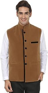 WINTAGE Men's Linen Two Button Notch Lapel Blazer Coat - Three Colors
