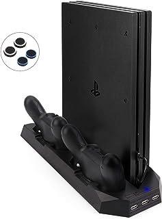 Actualizada FlexDin [2 en 1] PlayStation 4 Slim / Pro Soporte Vertical Base para PS4 Slim..