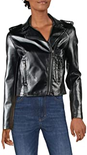Sponsored Ad - Boundless North Womens Faux Leather Fall Motorcycle Jacket