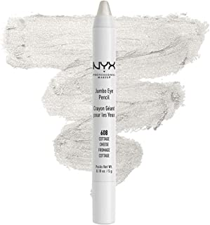 NYX PROFESSIONAL MAKEUP Jumbo Eyeliner Pencil - Cottage Cheese, Shimmery Light Silver