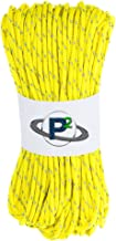 PARACORD PLANET Fluorescent Reflective 95lb 1.8mm Paracord in Lengths of 10', 25', 50', 100', 250', 1000' – Ideal for Camp...