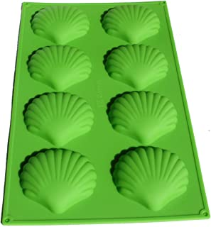 X-Haibei Silicone Mold Shell Soap Madeleines Cake Chocolate Muffin Pastry Maker