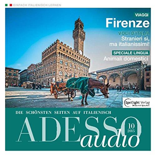 ADESSO audio - Animali domestici. 10/2015: Italienisch lernen Audio - Haustiere Titelbild