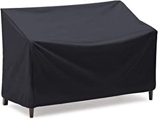 """Kingling Patio Outdoor Sofa & Loveseat Covers, 100% Waterproof Four-seat Bench Cover for Outdoor Furniture Protection, 64""""..."""