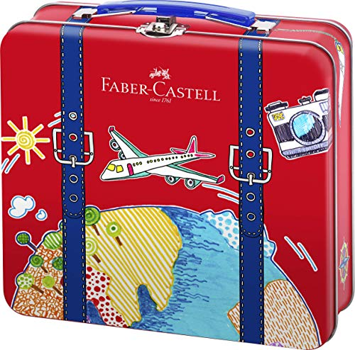 Faber-Castell 155535 - Filzstift Connector Reisekoffer, 1 Stück
