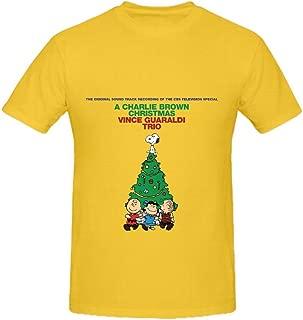 Vince Guaraldi Trio A Charlie Brown Christmas Soundtrack Mens Cute Shirts