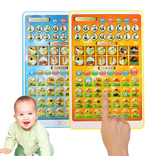 Lovinn Islamico Giocattoli Laugh Learn Tablet Bambino Baby Smart Stages Arabic Alphabets