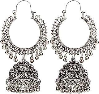 YouBella Earrings for Women Jewellery Earrings Afghani Kashmiri Jhumka earrings for Girls and Women