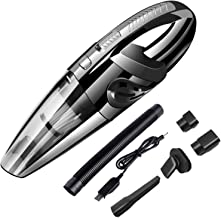 Kyelsee Portable Cordless Handheld Car Vacuum Cleaner Quick Cleaning, Wet Dry Use Long Lasting up to 30mins for Pet Hair, ...