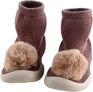 COMVIP Baby Cute Plush Bear PAW Slipper Walking Toddler Shoes