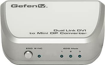 NEW Dual Link DVI/Mini DP Converte (Cables Audio & Video)