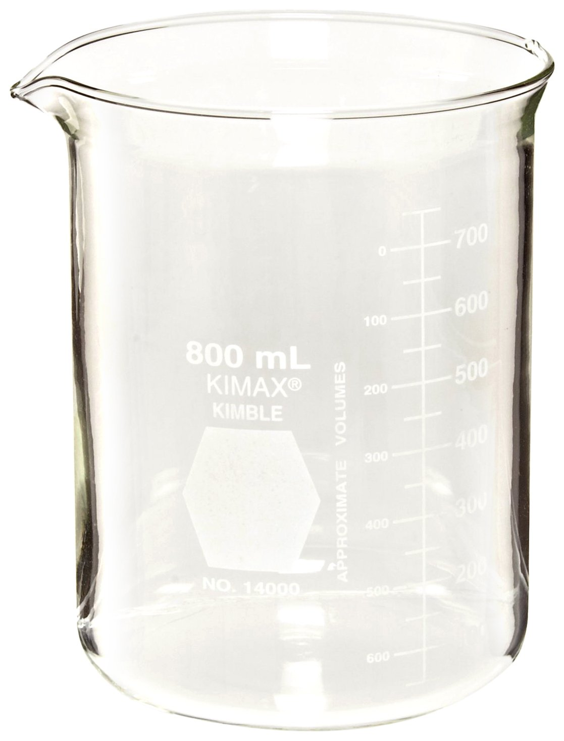 Kimble 14000-20 Glass Low Online limited product Limited time for free shipping Form Double Griffin with Capaci Beaker