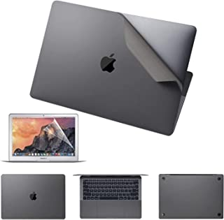 Premium 6-in-1 MacBook Full Body 3M Protective Skin Decals Stickers for MacBook Pro 13 Inch with Touch Bar (Model Number A...
