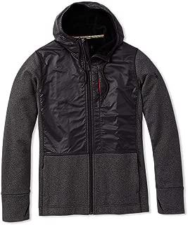 Men's Full Zip Sweatshirt - Merino Sport Wool Fleece Hybrid Hoodie