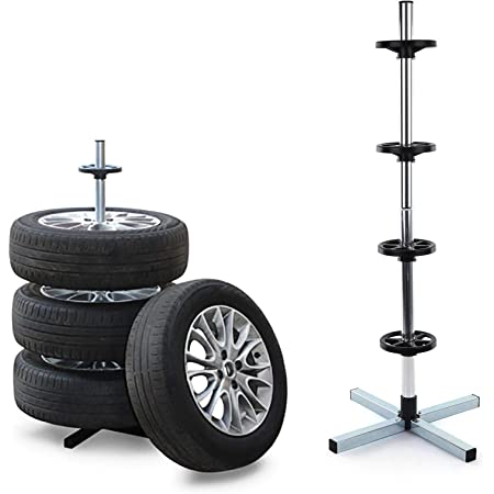 Tenzo R 37785 Felgenbaum Reifen Ständer Für Sommer Winterräder Zur Lagerung Bis 100kg 225mm Auto