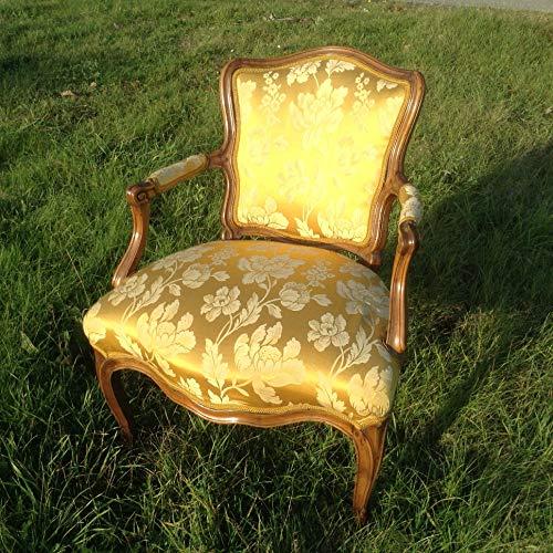 Barocker Damen Fauteuil Sessel. Eleganter und bequemer Sessel aus Nussbaum Rokoko Süddeutsch, Bodenseeregion um 1760 / 1770. Selten! Wohnzimmer Schlafzimmer Arbeitszimmer Sekretär Stuhl