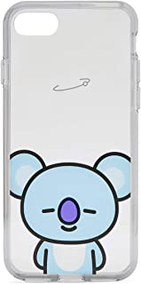 BT21 Official Merchandise by Line Friends - KOYA Character Clear Case for iPhone 8 Plus/iPhone 7+, Sky Blue