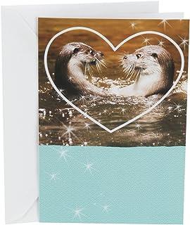 Hallmark Shoebox Funny Love Card, Anniversary Card, or Birthday Card (Meant for Each Otter)