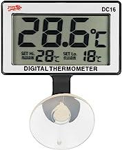 Bedler Medidor de la Temperatura del LCD Digital Fish Tank termómetro del Acuario de Agua Sumergible 0 ° C ~ 50 ° C Alta/Alarma de Baja Temperatura termómetro de pecera