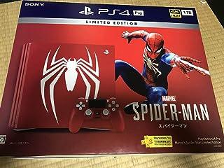 品 PlayStation 4 Pro Marvel's Spider-Man Limited Edition スパイダーマン
