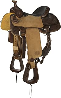 NRS Competitor Series Heavy Oil Roughout Team Roping Saddle