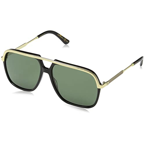 Gucci GG0200S GG 0200S Square Pilot Sunglasses Lens Category 3