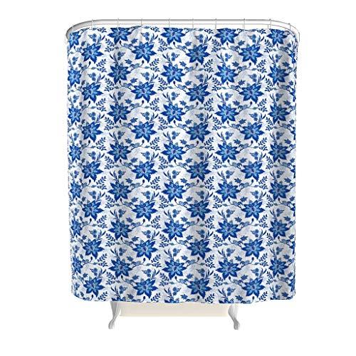 Xuanwuyi Flower Line Art Photo Art Textil – 2019 Tendencia arte patrón tema decoración diseño con ganchos durable tela impermeable cortina de ducha para bañeras blanco 149 x 182 cm