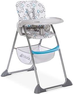 Hauck Sit N Fold Baby High Chair - Circles Blues