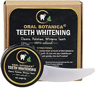 Botanica Culture Oral Botanica 100% Natural Teeth Whitening, 5g