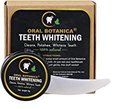 Botanica Culture Oral Botanica 100% Natural Teeth Whitening, 5g