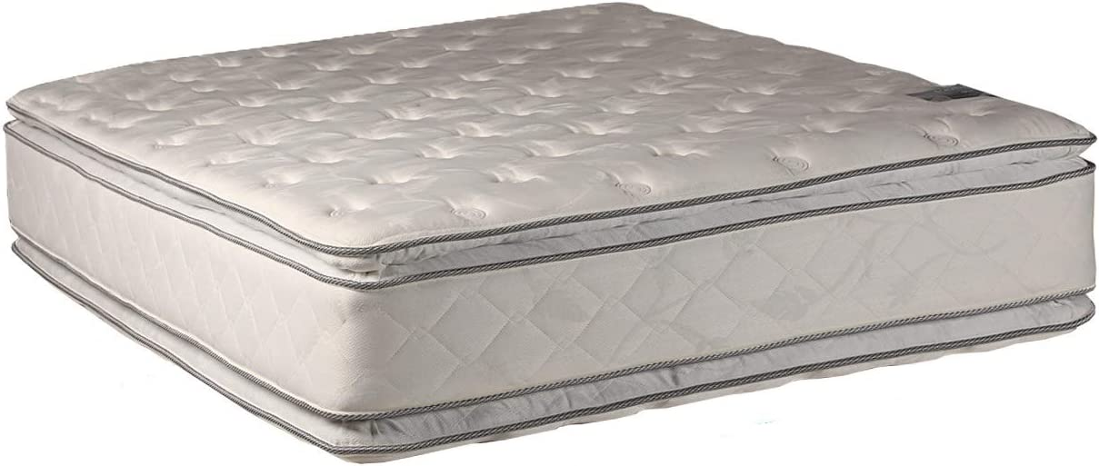 Dream Sleep Gentle Plush Two-Sided Mattress Only with Kansas City Sale Mall Eurotop Ma