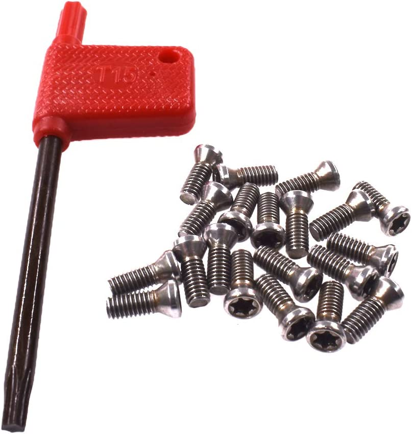 Cheap mail order sales OFFer HGC 20pcs M3.5x10 Alloy Steel Torx Carbide For Replaces I Screws