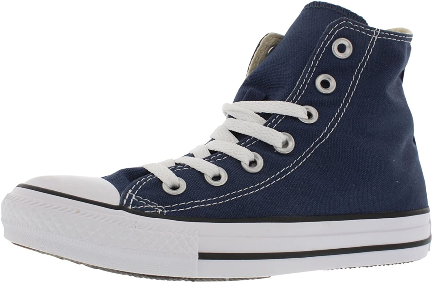 Converse All Star Chuck Taylor Basic Hi Women's Casual Sneakers Size US 5, Regular Width, color Navy