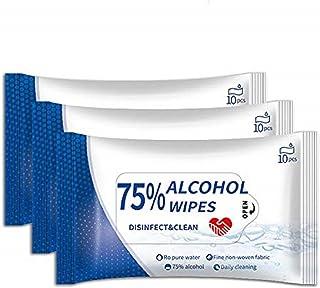 100枚 10枚入×10個 99.99%除菌 アルコール ウェットティッシュ 除菌 不織布 高濃度 清潔 75%タイプ シート