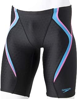 Speedo(速度) 游泳游泳比赛用泳衣 男款 游泳衣 4分长 FlexCubeFINA 认证款 SC61907F