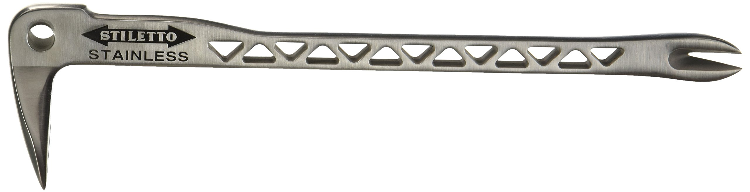 Stiletto SSCLW12 2 Stainless Clawbar Dimpler