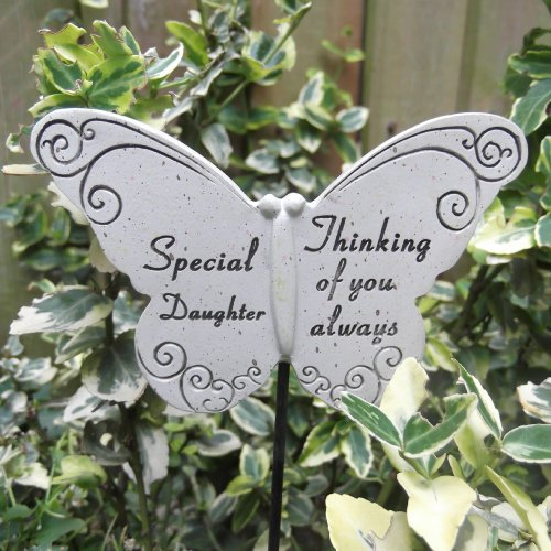 Memorial Butterfly Special Daughter Graveside Ornament