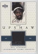 Gene Upshaw (Football Card) 2000 Upper Deck Legends - Legendary Game Jersey #LJ-GU