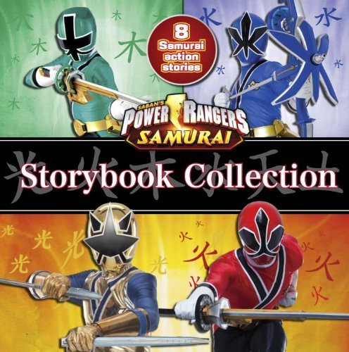 Power Rangers Storybook Collection (Saban's Power Rangers Samurai) by Parragon Books (2012) Hardcover