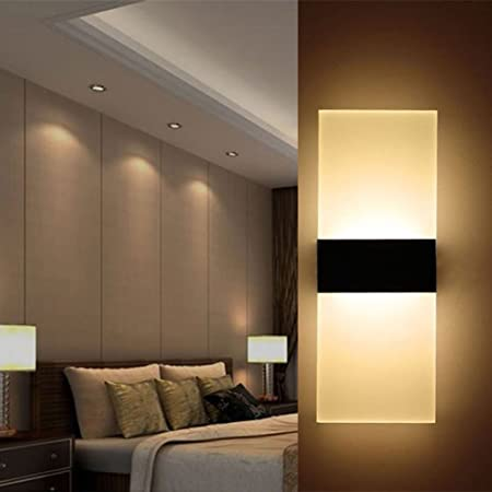 3W//9W LED Wall sconce Lamp Fixture Portable Table Light Switch Plug Jewelry Shop