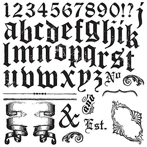 Prima Marketing IOD Decor Stamps-Alpha Ii