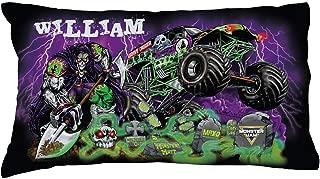 TV's Toy Box Monster Jam Grave Digger and Grim Graveyard Pillowcase