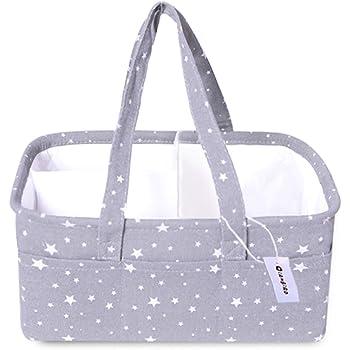Diaper Caddy | Diaper Caddy Organizer | Diaper Bag Organizer | Baby Storage and Organizer XL | Diaper Organizer Caddy| Baby Gifts | Storage Bin for Nursery | Baby Bins for Storage