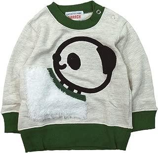 《秋冬春对应》 GARACH(GARACH) 里毛 熊猫口袋运动衫 NO.AH-1831601 [対象] 72ヶ月 ~ Om 120