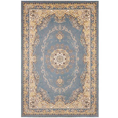 OUTGYM Vintage Teppich Traditioneller Teppich mit Klassischem Blumenmuster im Persischen Böhmischen...