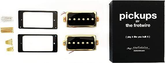 TFW Replacement Pickup Set - P90 Gold, Humbucker Size Set of 2
