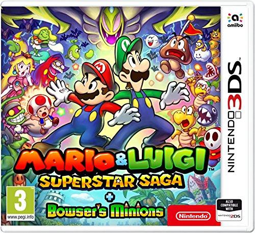 Mario and Luigi: Super Star Saga + Bowser's Minions - Nintendo 3DS [Edizione: Regno Unito]